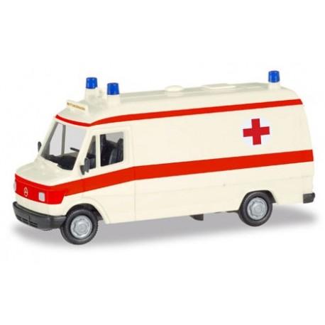 """Herpa 094160, Mercedes-Benz T1 karetka """"Rettungsdienst"""", skala H0"""