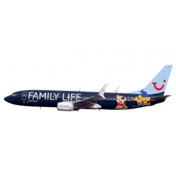 "HERPA 611145, Jetairfly Boeing 737-800 ""Family Life Hotels"", skala 1:200"