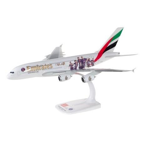 "HERPA 610629, 611152, Emirates Airbus A380 ""Paris St. Germain"", skala 1:250."