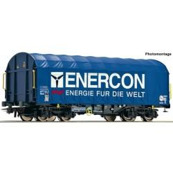 "ROCO 76448, Wagon kurtynowy Shimms, ""Enercon"", ep.VI, skala H0"