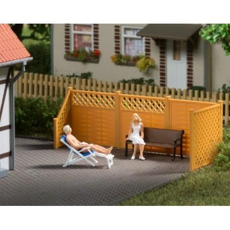Auhagen 41648, Płot panelowy ogrodowy, skala H0