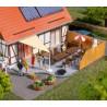 Auhagen 41650, Wyposażenie tarasu, ogrodu, patio... skala H0