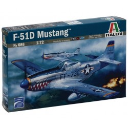 Italeri 0086, P - 51D MUSTANG, skala 1:72, model do sklejania.