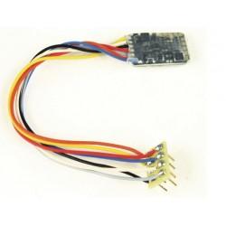 Fleischmann 686201, Dekoder DCC NEM-652 (8-pin) RailCom®,, 0.8 A, H0e, TT, N.