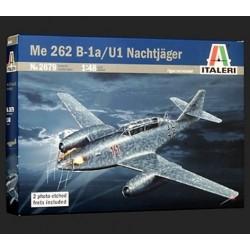 Italeri 2679, Messerschmitt Me 262 B - 1a / U1, skala 1:48