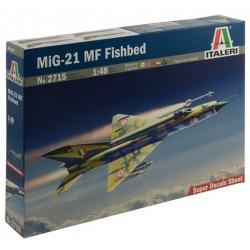Italeri 26715, Mig - 21 MF Fishbed, skala 1:48