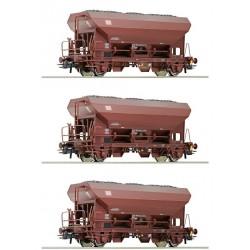 ROCO 76170, Zestaw: trzy wagony Fcs, DB AG, ep.V, skala H0
