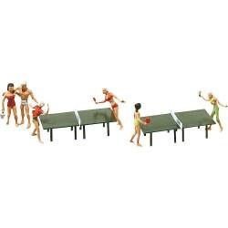 Faller 151053, Tenis stołowy, stoły i gracze, skala H0