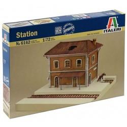 Italeri 6162, Zrujnowana stacja kolejowa, skala 1:72