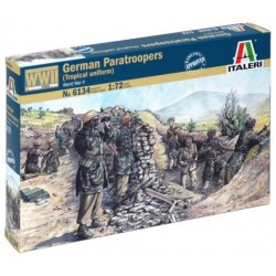 Italeri 6134, German Paratroop, WWII, figurki, skala 1:72
