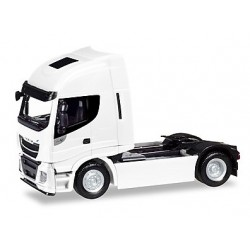 Herpa 309141, Iveco Stralis Highway XP, white, skala H0 (1:87)