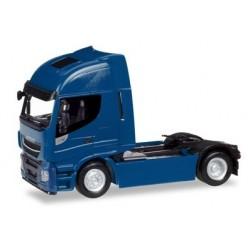 Herpa 309158, Iveco Stralis Highway XP, niebieski, skala H0 (1:87)