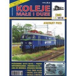 KMiD36 Koleje Małe i Duże, nr 36 (1-2/2018)