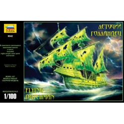 "ZVEZDA 9042, ""Flying Dutchman"", Ghost Ship, skala 1:100, model do sklejania."