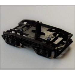 ROCO 115441, Rama, obudowa kompletna wózka wagonu Y25, skala H0.
