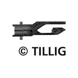 Tillig 08828, Sprzęgi krótkie sztywne, 20 sztuk, skala TT.