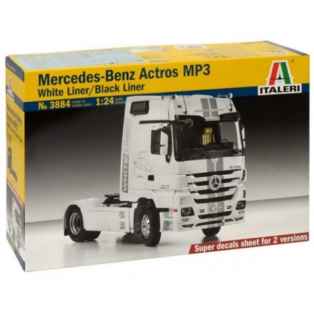 Italeri 3884, Mercedes - Benz Actros MP3, skala 1:24