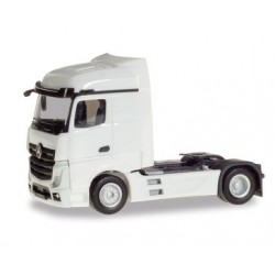 Herpa 309226, Mercedes-Benz Actros Streamspace 2.5, white, skala H0