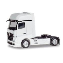 HERPA 309202, Mercedes-Benz Actros Gigaspace, white, skala H0