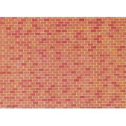 Faller 170608, Mur ceglany, dekor.
