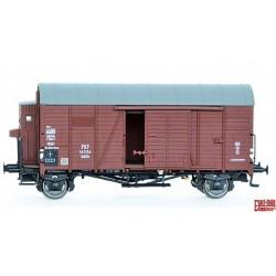 Exact-train EX20123, Wagon towarowy kryty Oppeln z budką ham. Kddth, PKP, ep.III, skala H0.