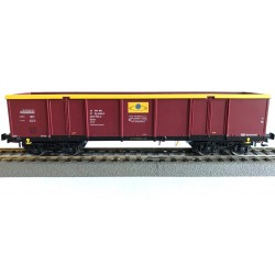 Rivarossi HRS6443, Wagon węglarka UIC, Eaos 33 51 533 0 797-0 PL-RAILP, Rail Polska Sp. z o.o., ep. VIa, skala H0.