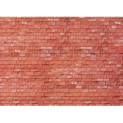 170613 Mur z czerwonego piaskowca