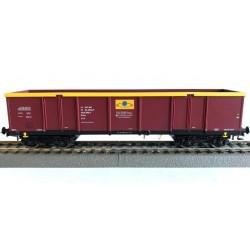 Rivarossi HRS6444, Wagon węglarka UIC, Eaos 33 51 533 0 805-1 PL-RAILP, Rail Polska Sp. z o.o., ep. VIa, skala H0.