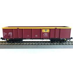 Rivarossi HRS6445, Wagon węglarka UIC, Eaos 33 51 533 0 803-6 PL-RAILP, Rail Polska Sp. z o.o., ep. VIa, skala H0.