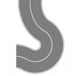 """NOCH 48590, """"Droga krajowa"""" - zakręty, 4 cm, samoprzylepna, skala TT (1:120)."""