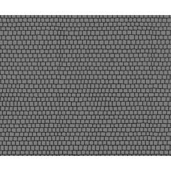 NOCH 48594, Plac brukowany, 2 sztuki, 17 x 10,5 cm każda, samoprzylepny, skala TT (1:120).