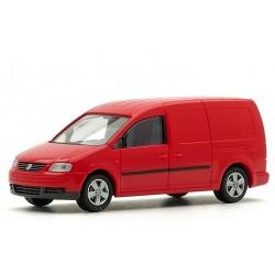Rietze 11800, Volkswagen Caddy Maxi Kasten, czerwony, skala H0.