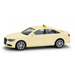 "Herpa 049269, Audi A6 Limousine ""Taxi"", skala H0."