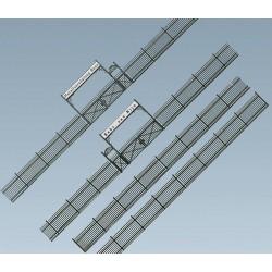 Faller 180412, Ogrodzenie z bramami, skala H0