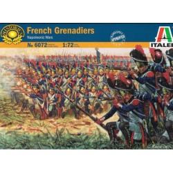 Italeri 6072, French Granadiers, skala 1:72.