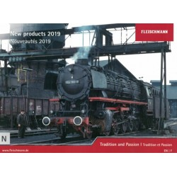 fkatn19, Katalog Fleischmann New Products 2019, skala N.
