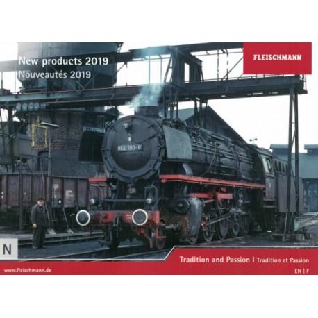 fkatn19, Katalog Fleischmann New Products 2019, skala N.