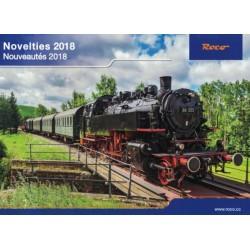 rkn18, Katalog ROCO Novelties 2018.