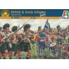 Italeri 6058, British & Scots Infantry (Napoleonic Wars), skala 1:72.
