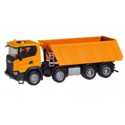 Herpa 309943, Scania CG 17 8×4, communal orange, skala H0.