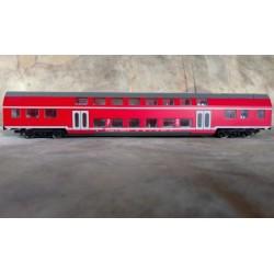 -KOMIS- KS2260, PIKO wagon pasażerski piętrowy DB, skala H0.
