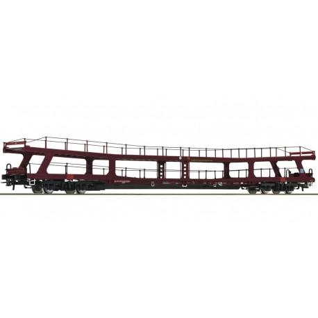 Roco 67568, Wagon do transportu samochodów, typ DDm, EETC (Euro-Express Treincharter), ep.VI, skala H0.