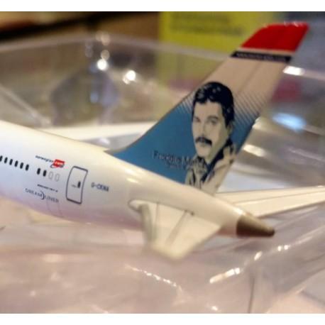 """HERPA 530170, Norwegian Boeing 787-9 Dreamliner """"Freddie Mercury"""", skala 1:500."""