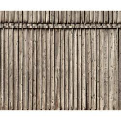 "NOCH 56664, Ściana z desek. Dekor, karton ""3D"" strukturalny, wytłaczany, skala H0."