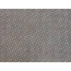"NOCH 56722, Nowoczesny bruk, karton ""3D"" strukturalny, wytłaczany, skala H0."