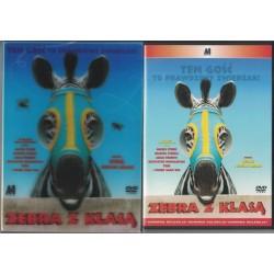 """""""Zebra z klasą"""" - film DVD."""