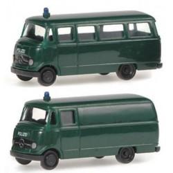 Rietze 16055, Dwa modele: MB O 319 / MB L 319 Polizei, skala N (1:160).