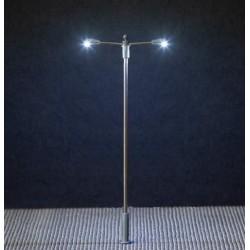 Faller 180203, Latarnia uliczna podwójna 93 mm, LED, 12-14 V.