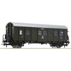 ROCO 74417, Wagon pasażerski pomocniczy, przebudowany, kl.3, PKP, ep.III, skala H0.