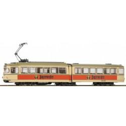 "ROCO 52580, Tramwaj 6-osiowy, ""Jägermeister"", skala H0"